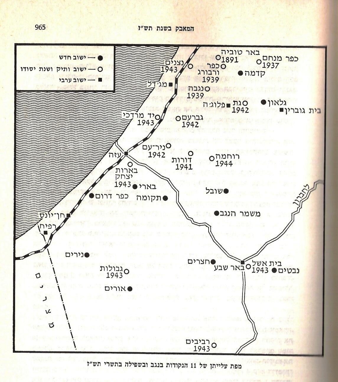 חבל עזה וגבולה הדרומי של מדינת ישראל